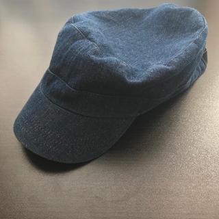 ウィゴー(WEGO)のデニム キャップ 帽子 ワークキャップ キャスケット(キャップ)