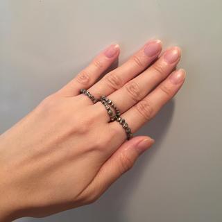 イオッセリアーニ(IOSSELLIANI)のイオッセリアーニ 4連シルバーリング(リング(指輪))