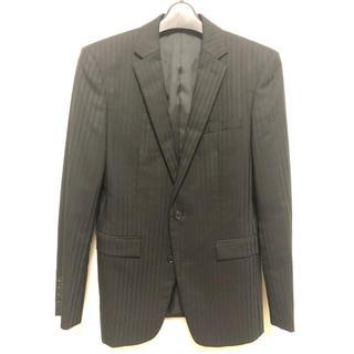 コムサメン(COMME CA MEN)の美品 コムサメン スーツ 44サイズ ブラック(セットアップ)