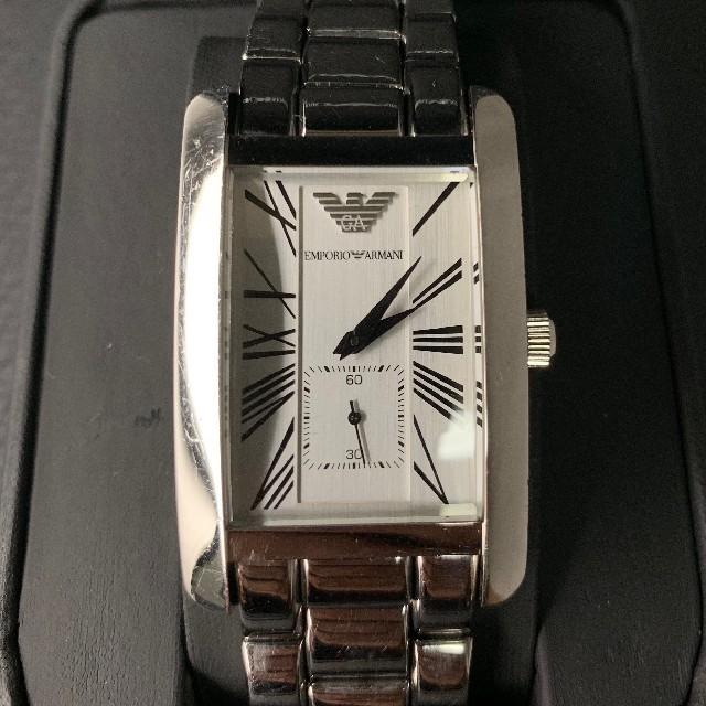 Emporio Armani - エンポリオアルマーニ AR0145 まぁまぁキレイの通販 by タンポポ腕時計|エンポリオアルマーニならラクマ