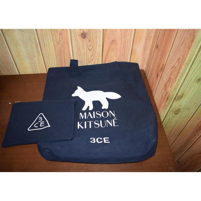 MAISON KITSUNE'(メゾンキツネ)のメゾンキツネ トートバッグ ポーチ メンズのバッグ(トートバッグ)の商品写真