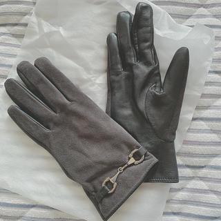 ビューティアンドユースユナイテッドアローズ(BEAUTY&YOUTH UNITED ARROWS)の【新品未使用】グローブ 牛革 手袋 正規品 美品(手袋)