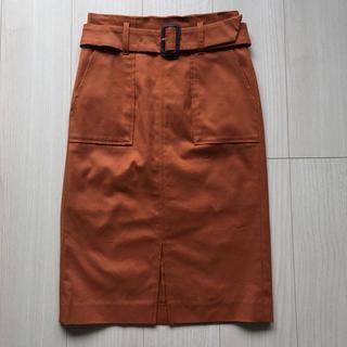 ビッキー(VICKY)のタイトスカート オレンジブラウン(ロングスカート)
