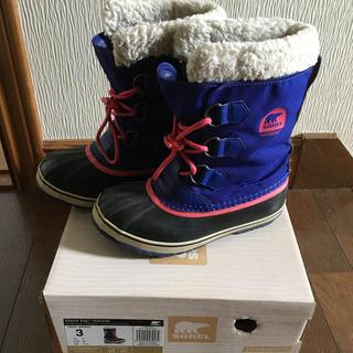 ソレル(SOREL)のSORELソレル キッズスノーブーツ21cm(ブーツ)