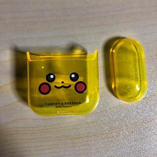 ポケモン(ポケモン)のqい様専用 CASETiFY  Airpodsケース 箱なし 1箇所小傷あり(モバイルケース/カバー)
