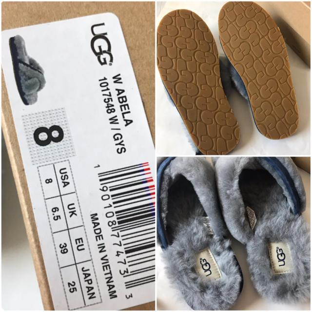 UGG(アグ)のアグ アベラ ファーサンダル レディースの靴/シューズ(サンダル)の商品写真