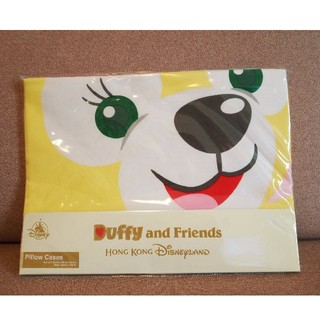 ダッフィー(ダッフィー)の香港ディズニーダッフィー&クッキー枕カバー2枚組(シーツ/カバー)
