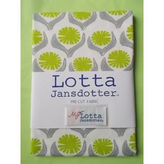 リサラーソン(Lisa Larson)のLotta Jansdotter 手芸用生地 DRIVA グリーン花(生地/糸)