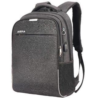 通勤通学 PCバック ビジネスリュック 盗難防止 パスワードローク 最新ブラック(ビジネスバッグ)