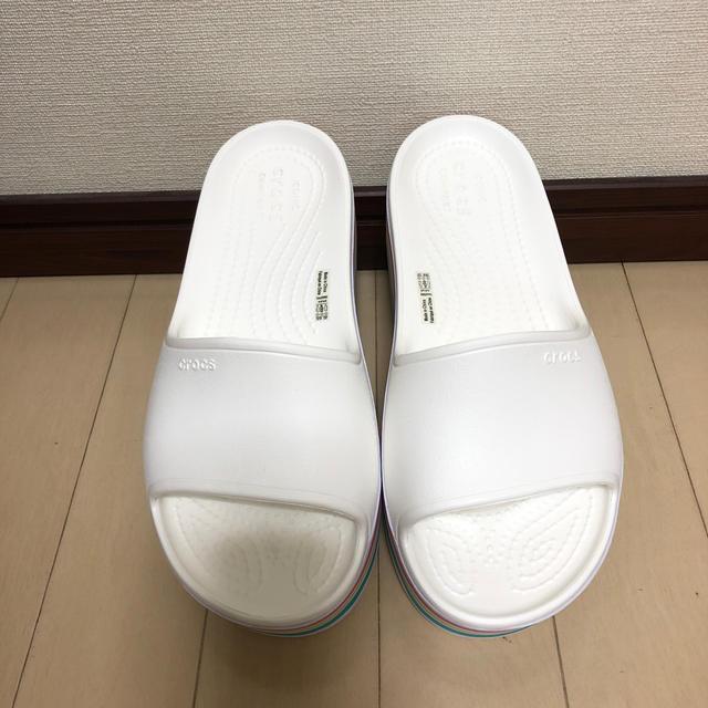 crocs(クロックス)のcrocs サンダル パステルカラー レディースの靴/シューズ(サンダル)の商品写真