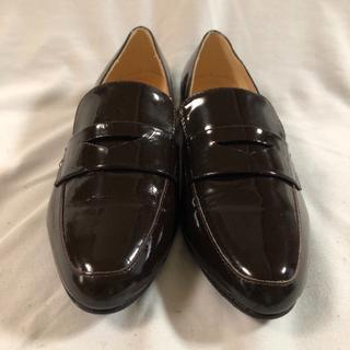 ファビオルスコーニ(FABIO RUSCONI)の美品 ファビオルスコーニ   パテントレザー(ローファー/革靴)