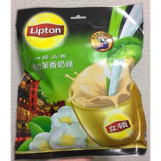 ユニリーバ(Unilever)の台湾限定 リプトン ジャスミンミルクティー東方茉香奶緑 (茶)