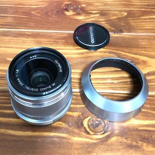 オリンパス(OLYMPUS)のM.ZUIKO DIGITAL 25mm F1.8 シルバー(レンズ(単焦点))