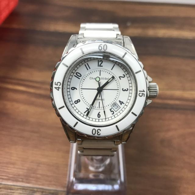 R32219 腕時計 シャルルホーゲル CV-7843 クォーツの通販 by フリー031206's shop ラクマ