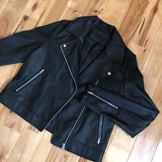 【美品】ユニクロ ライダースジャケット