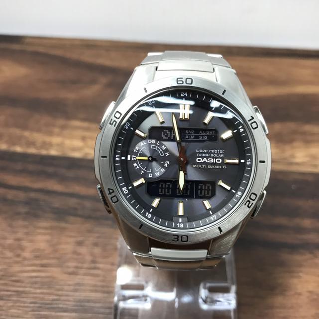 CASIO - R32184 カシオ 腕時計 ウェーブセプター WVA-V650 電波ソーラーの通販 by フリー031206's shop|カシオならラクマ