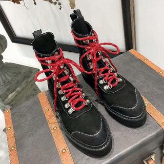 オフホワイト(OFF-WHITE)のOFF-WHITEマーティン靴   新品未使用!(ブーツ)
