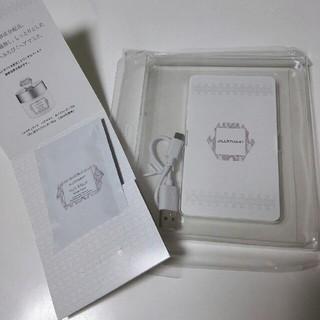ジルスチュアート(JILLSTUART)のジル・スチュアート モバイルバッテリー(バッテリー/充電器)