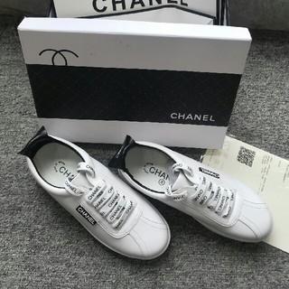 シャネル(CHANEL)のCHANEL スニーカー 正規品  24cm(スニーカー)