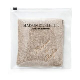 メゾンドリーファー(Maison de Reefur)のメゾンドリーファー 今治タオルハンカチ pvcポーチつき(ハンカチ)