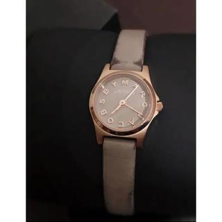 マークバイマークジェイコブス(MARC BY MARC JACOBS)の格安出品!マークジェイコブス☆腕時計☆正規品♪(腕時計)