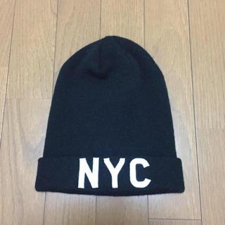 H&M - ニット帽 黒