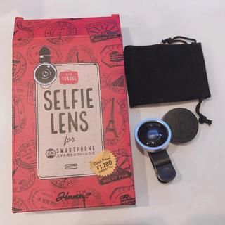 アイフォーン(iPhone)のスマホ  レンズ  セルフィーレンズ スマートフォン 携帯(その他)