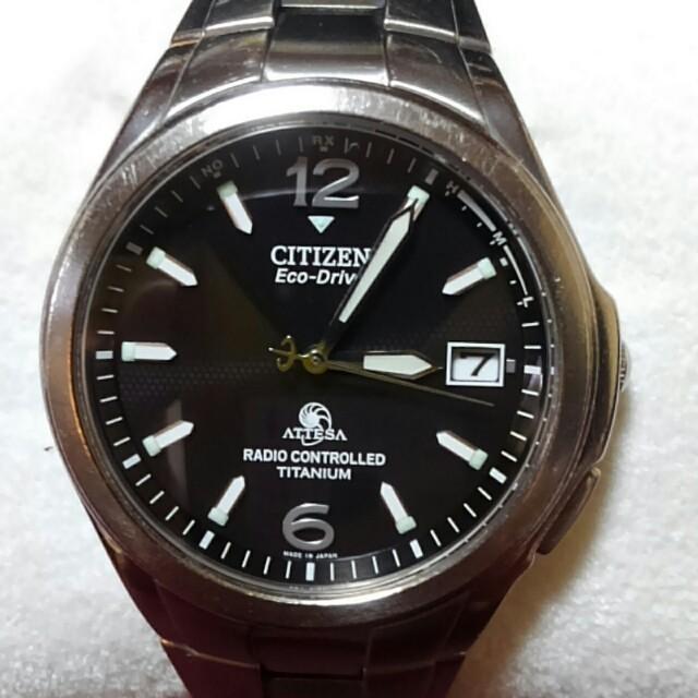 CITIZEN - ★専用商品です★CITIZENアテッサ.エコドライブ.電波ソーラー腕時計の通販 by Sam's shop|シチズンならラクマ