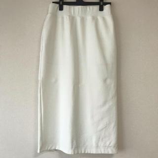 ハイク(HYKE)のHYKE タイトスカート オフホワイト ハイク スカート(ひざ丈スカート)