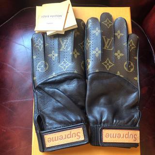 ルイヴィトン(LOUIS VUITTON)のsupreme louis vuitton グローブ 新品未使用(手袋)