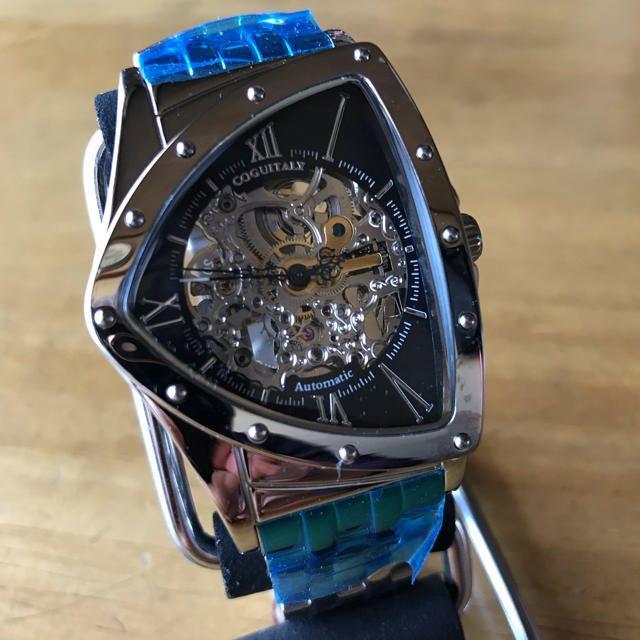 COGU - 新品✨コグ COGU フルスケルトン 自動巻き 腕時計 BS0TM-BKの通販 by てっちゃん(´∀`)|コグならラクマ