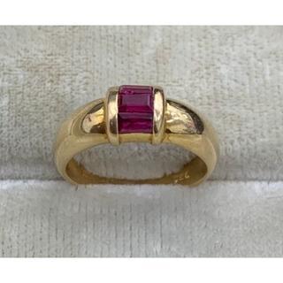 ティファニー(Tiffany & Co.)のTIFFANY & Co. ルビー 750 K18 リング 指輪 5号(リング(指輪))