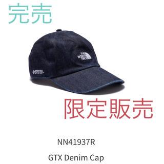 ザノースフェイス(THE NORTH FACE)の新品 ノースフェイス   NN41937R GTX Denim Cap(キャップ)