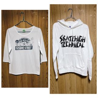 セサミストリート(SESAME STREET)のパーカー&七分Tシャツ(セット/コーデ)