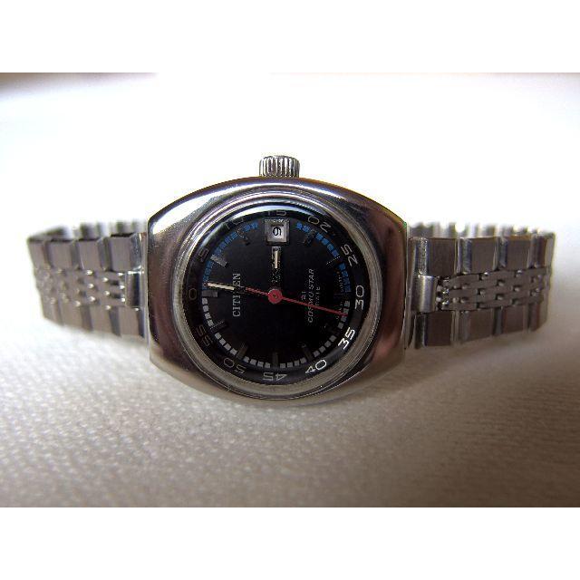 腕時計 手巻き式 シチズン コスモスター 21石 カレンダー付★送料無料★の通販 by mami's shop|ラクマ
