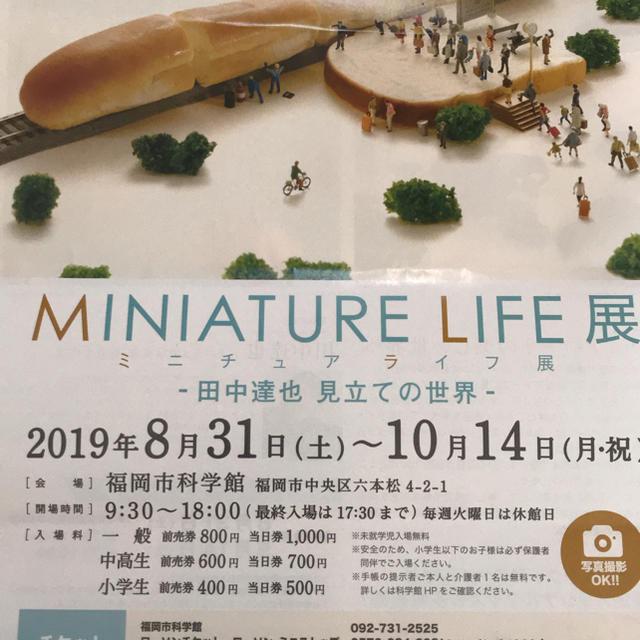 ミニチュア ライフ 展 福岡