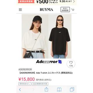 ボウダンショウネンダン(防弾少年団(BTS))のAder error T-shirt (Tシャツ/カットソー(半袖/袖なし))