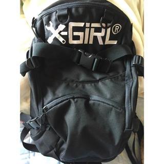 エックスガール(X-girl)のX-girl(リュック/バックパック)
