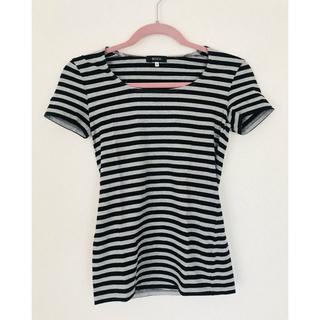ボッシュ(BOSCH)の【値下げしました】BOSCH(ボッシュ) ボーダーTシャツ 38 Mサイズ(Tシャツ(半袖/袖なし))