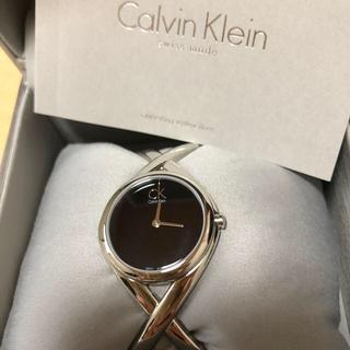 カルバンクライン(Calvin Klein)のカルバンクライン バングル 腕時計 稼働品(腕時計(アナログ))