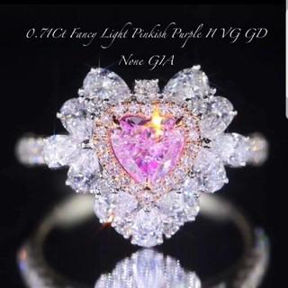 GIA♡ピンクダイヤモンドリング(リング(指輪))
