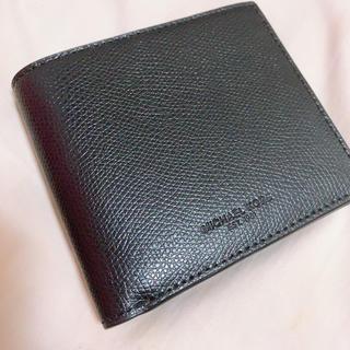 マイケルコース(Michael Kors)の極美品♡未使用マイケルコース 折財布 メンズ(折り財布)