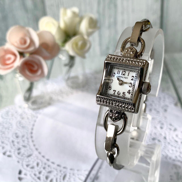 Hamilton - 【美品】HAMILTON ハミルトン 腕時計 シルバー 280.002の通販 by soga's shop|ハミルトンならラクマ