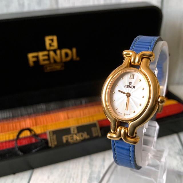 FENDI - 【電池交換済み】FENDI フェンディ 腕時計 640L チェンジベルト 6本の通販 by soga's shop|フェンディならラクマ