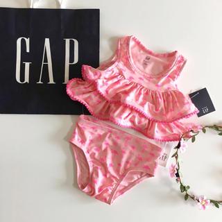 ベビーギャップ(babyGAP)の新品♡今季♡baby gap♡フラミンゴ 水着♡ビキニ/ユニクロ ネクスト 他(水着)