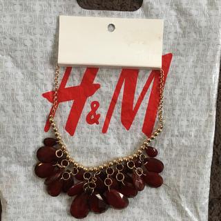 エイチアンドエム(H&M)の新品 H&M ネックレス(ネックレス)