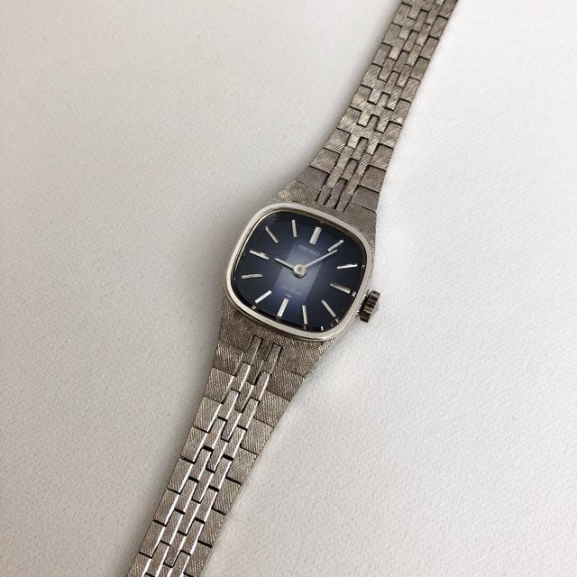SEIKO - セイコー 1120-3080 WGP ビンテージ レディース手巻き腕時計 稼動品の通販 by じゅん's shop セイコーならラクマ
