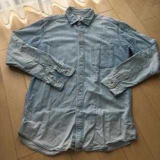 ユニクロ(UNIQLO)の《UNIQLO/ユニクロ》メンズ  デニムシャツ(シャツ)