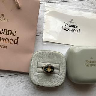 Vivienne Westwood - ヴィヴィアンウエストウッド★エナメルボタンリング★Sサイズ