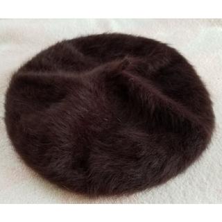 サマンサモスモス(SM2)のSM2 フェイクファーベレー帽(ハンチング/ベレー帽)